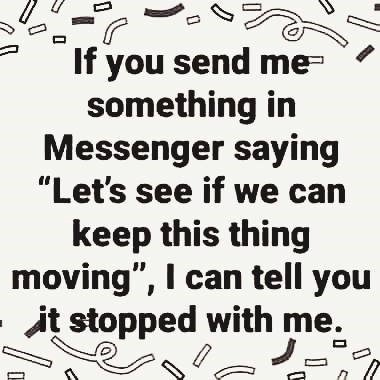 If You Send...