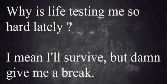 Why Is Life...