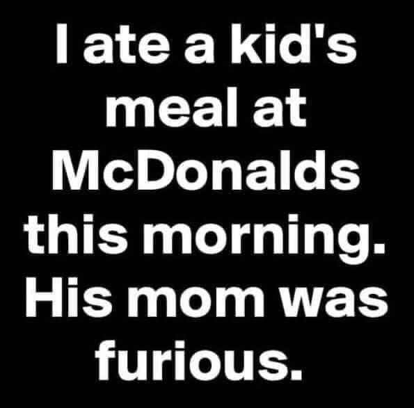 I Ate A...