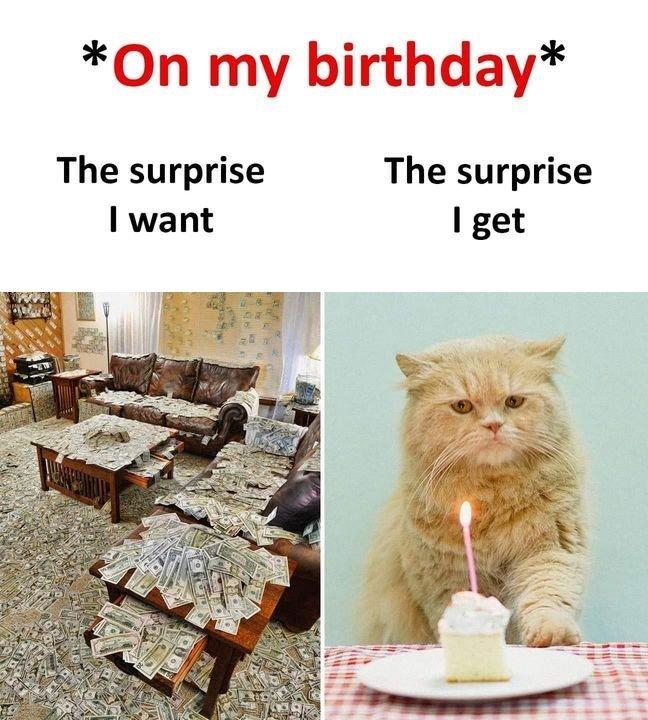 On My Birthday...
