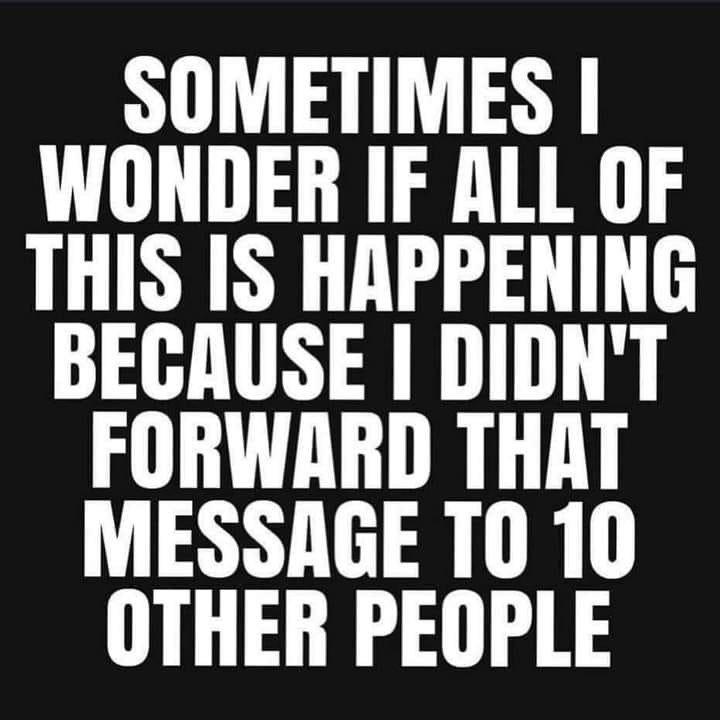 Sometimes I Wonder...