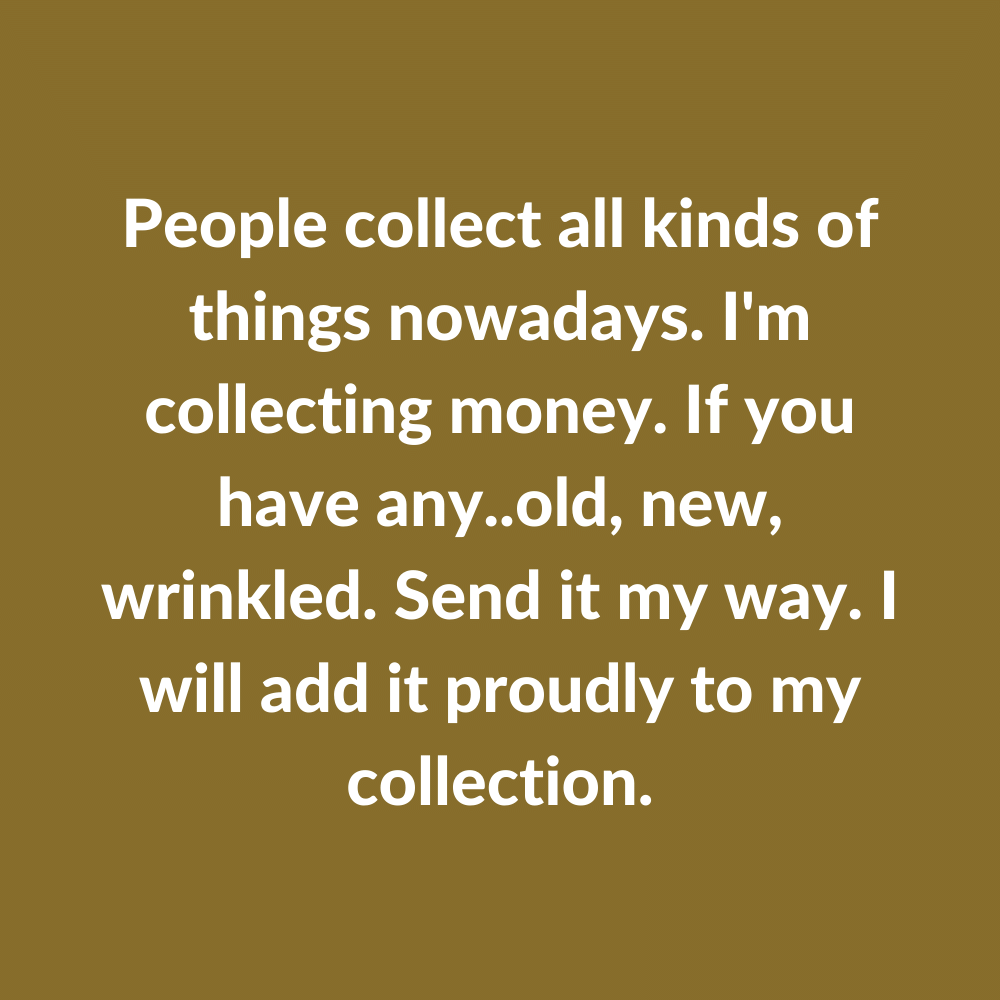 People Collect All...