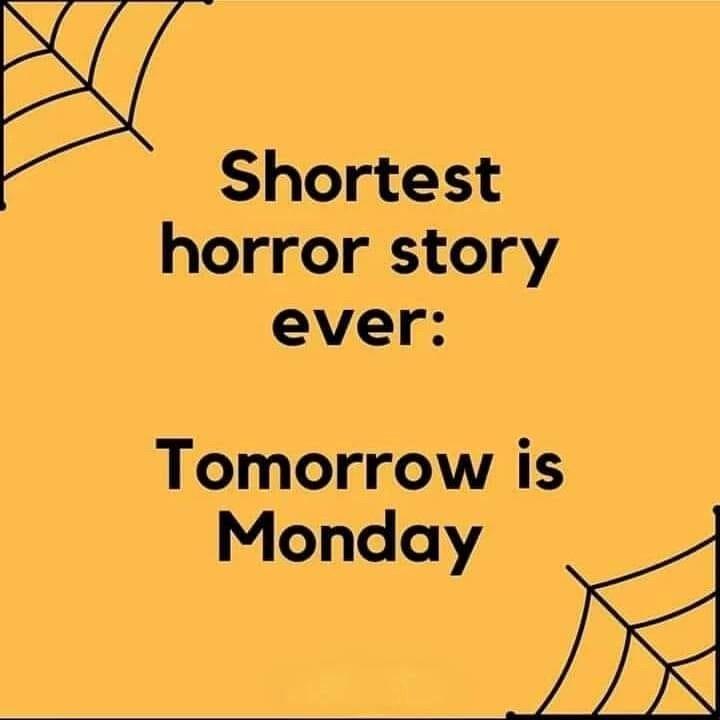 Shortest Horror Story...