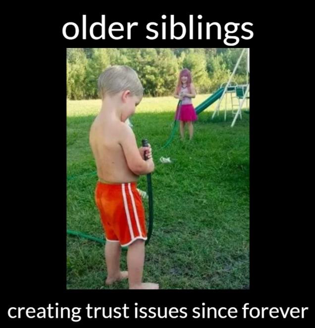 Older Siblings Creating...