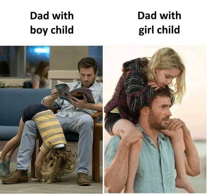 Dad With Boy...