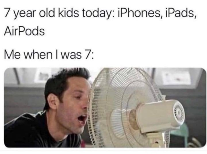 7 Year Old...