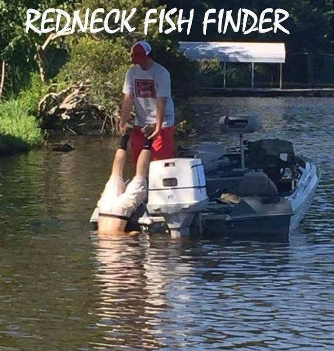 Redneck Fish Finder...
