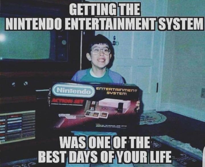 Getting The Nintendo...