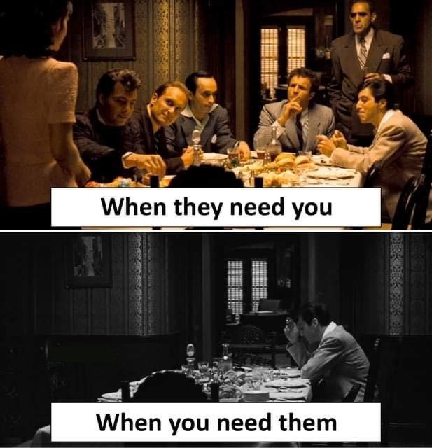 When They Need...