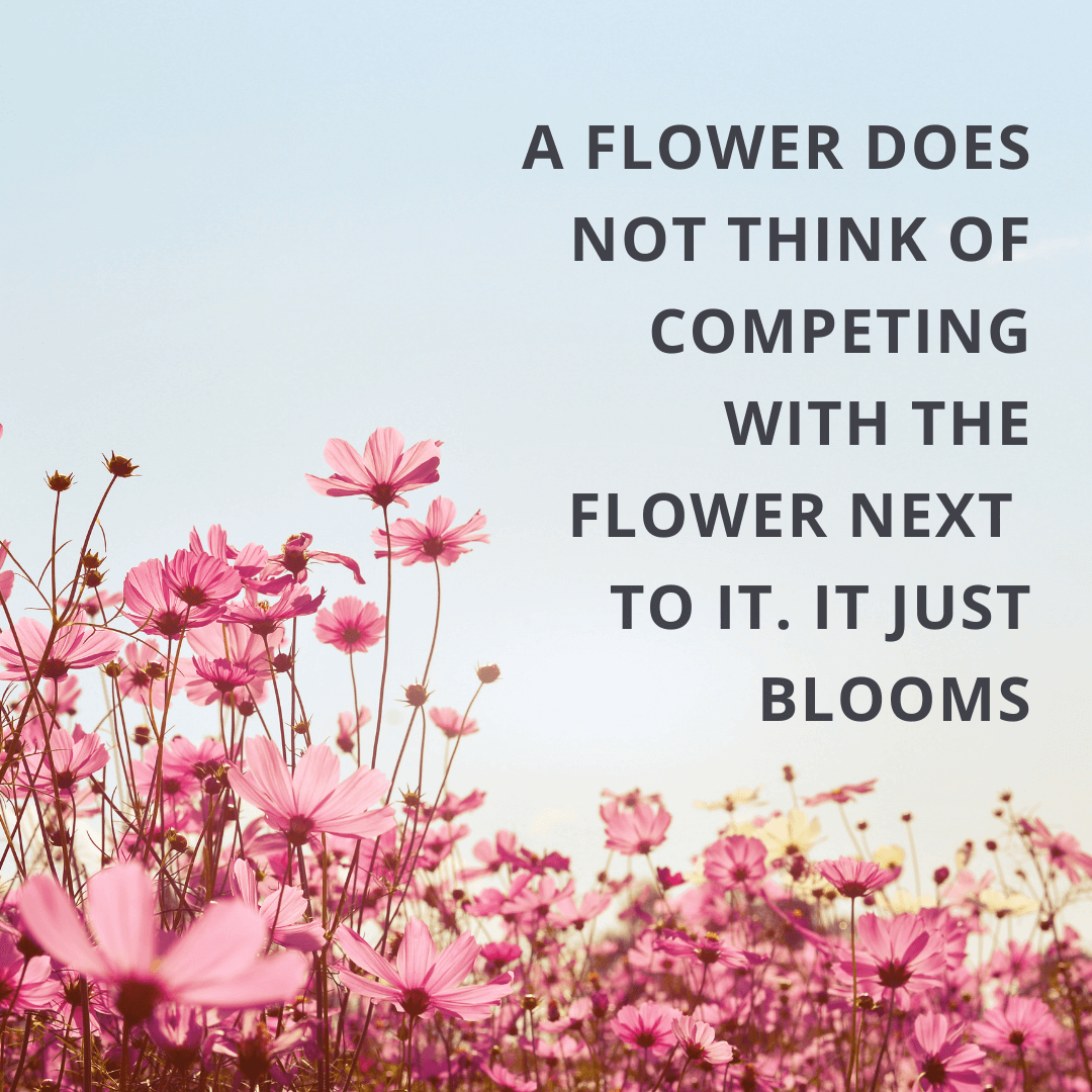A Flower Does...