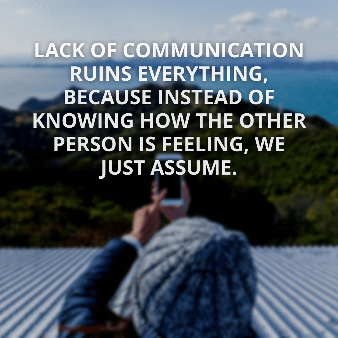 Lack Of Communication...
