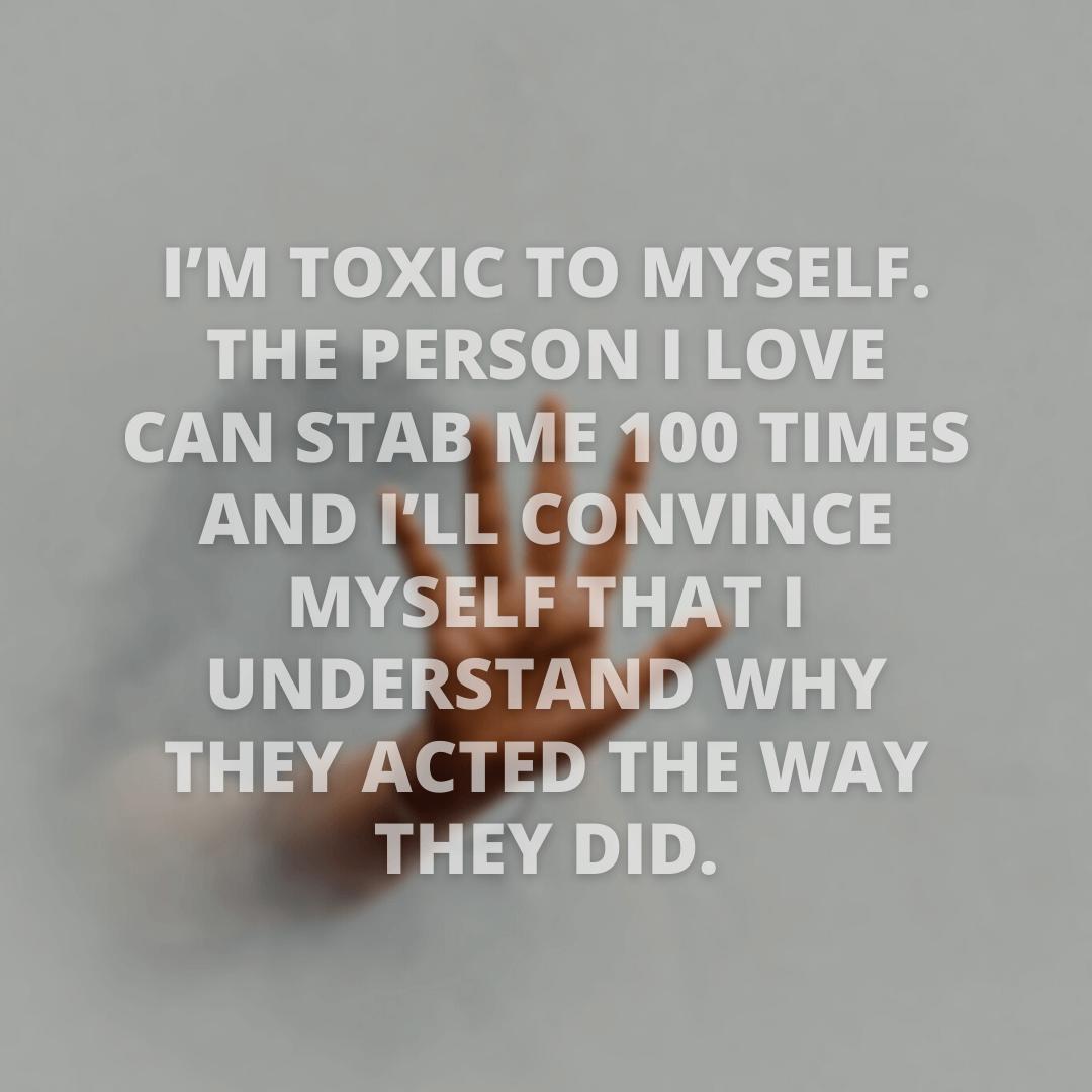 I'm Toxic To...