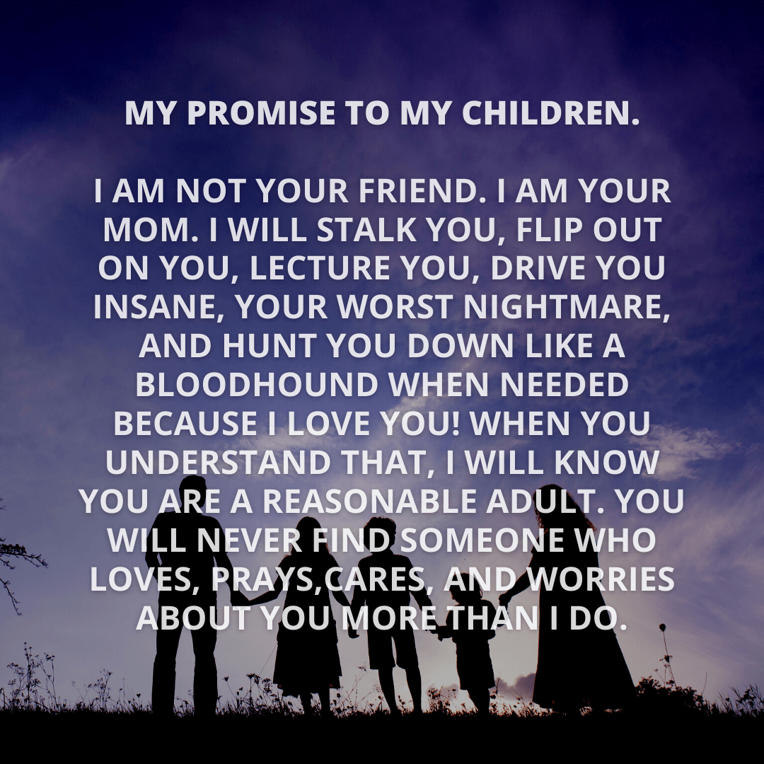 My Promise To...