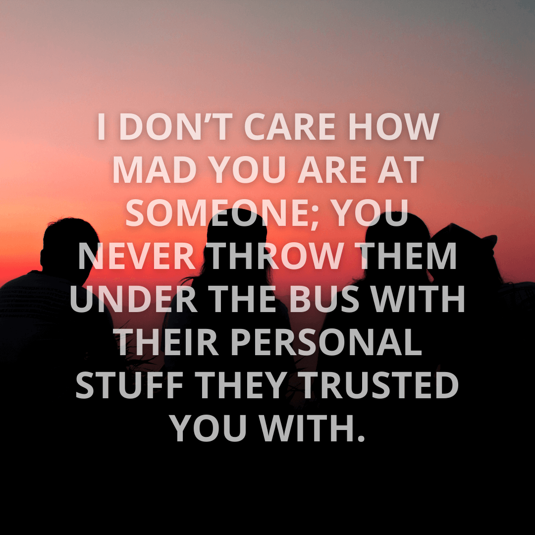I Don't Care...