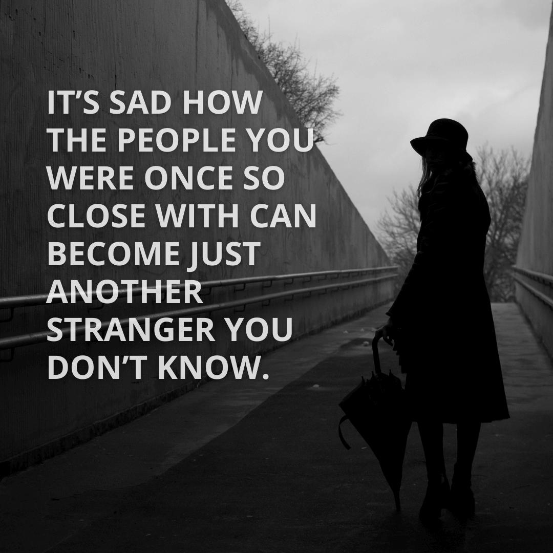 It's Sad How...