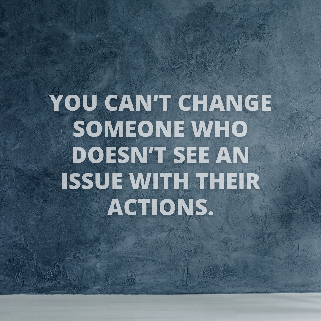 You Can't Change...