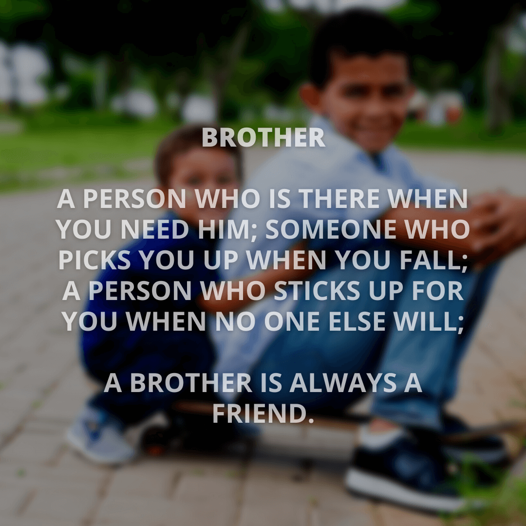 Brother A Person...