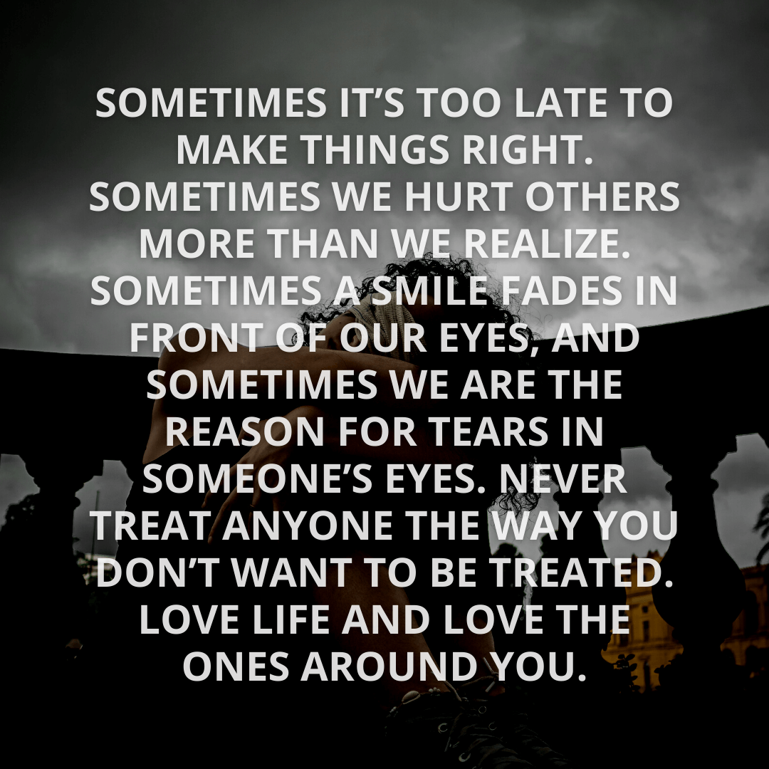 Sometimes It's Too...