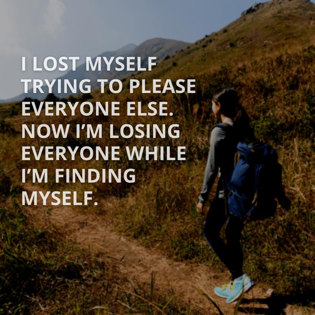 I Lost Myself...