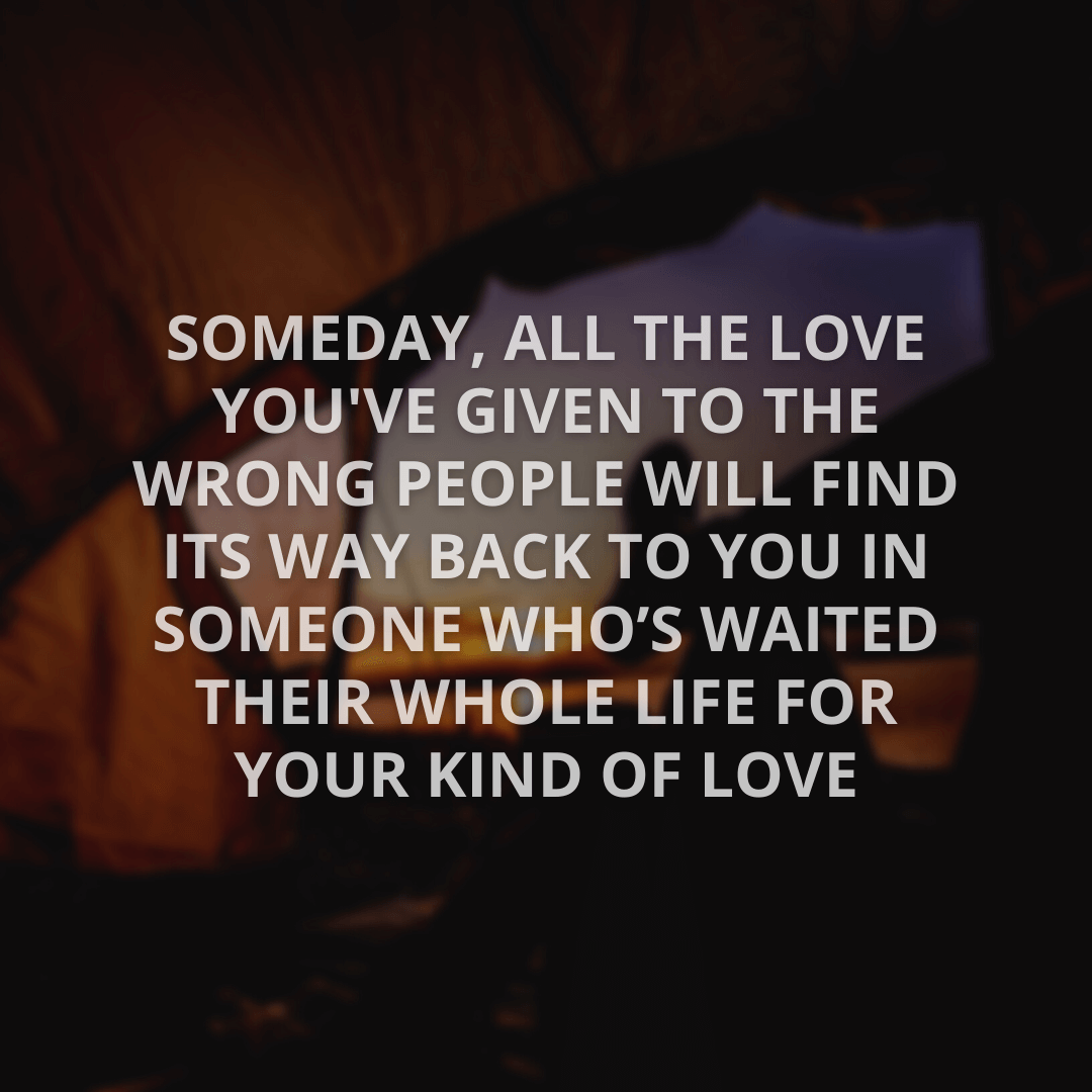 Someday, All The...