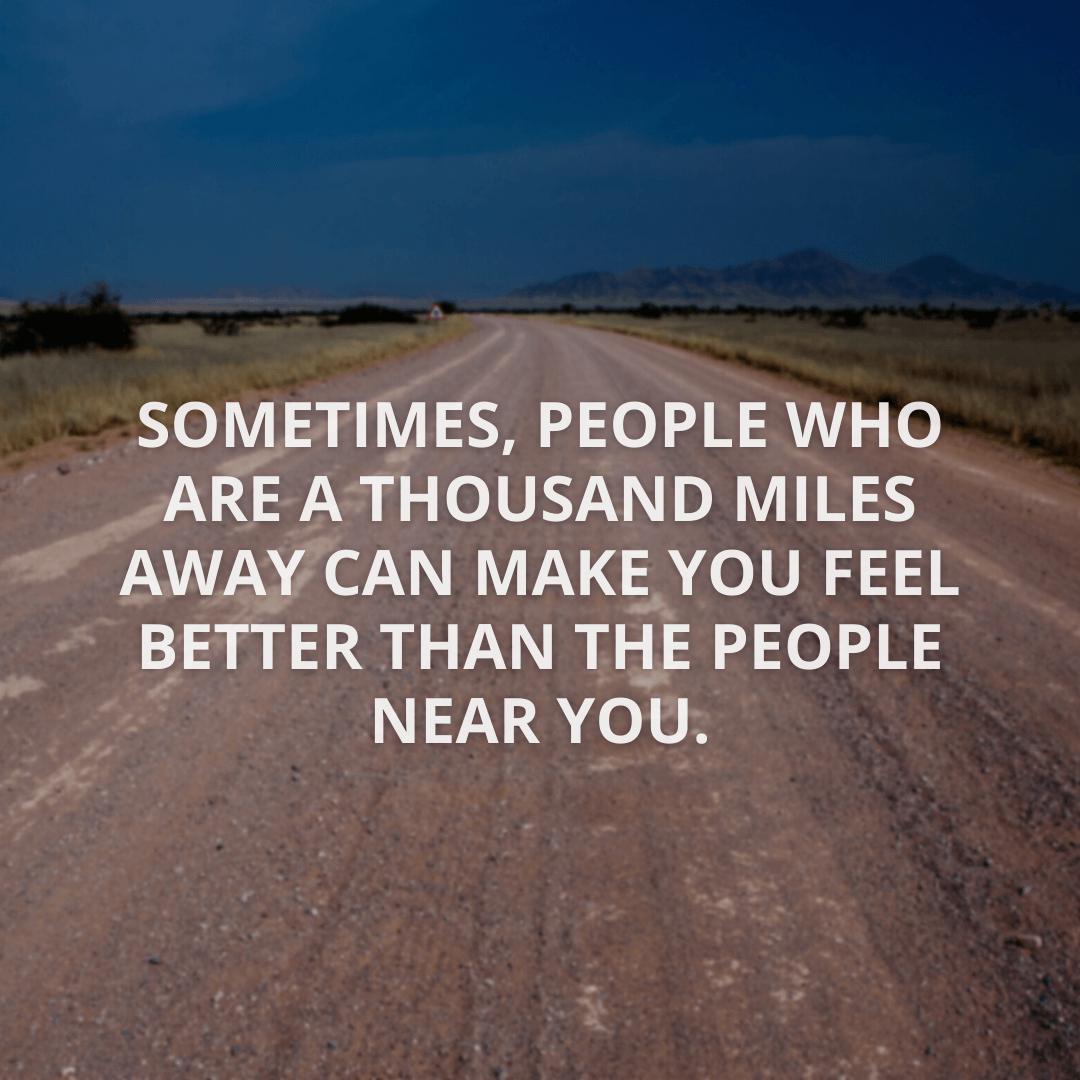 Sometimes, People Who...
