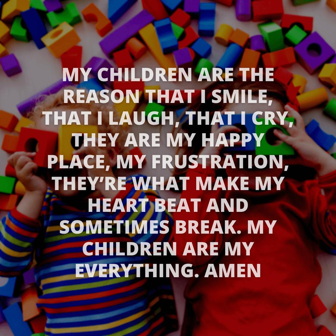 My Children Are...