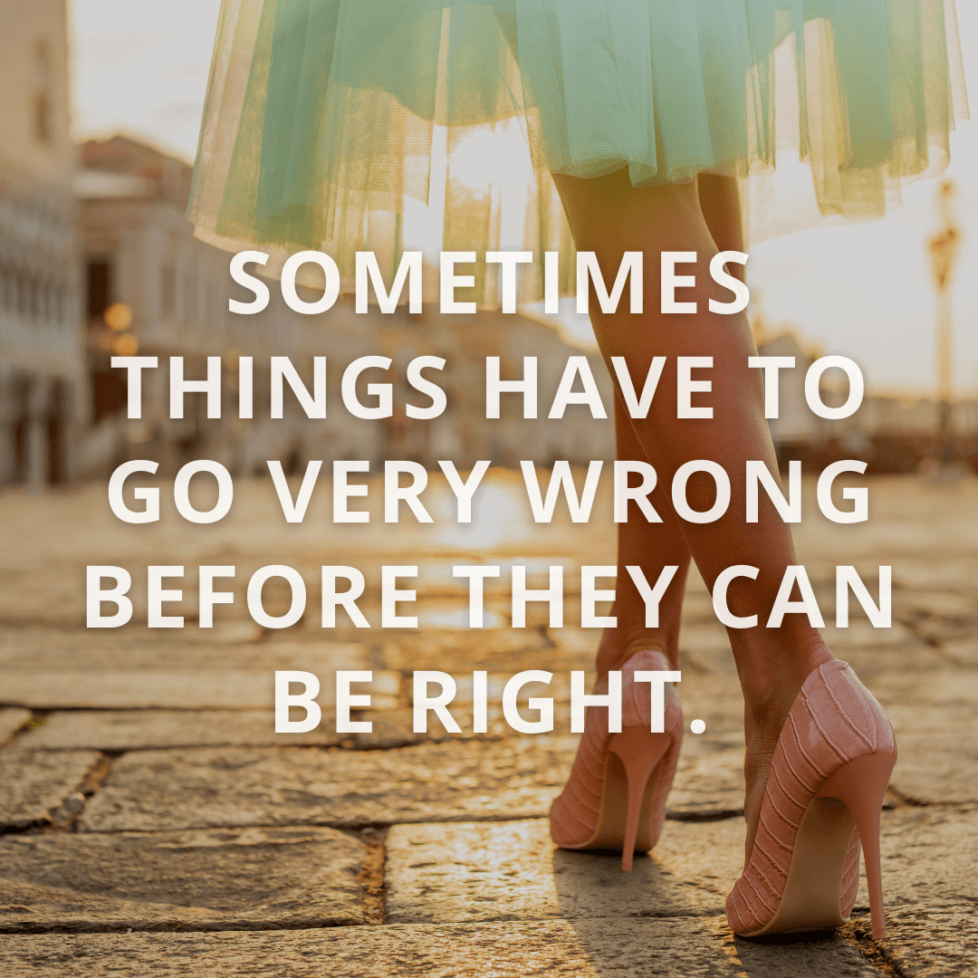 Sometimes Things Have...