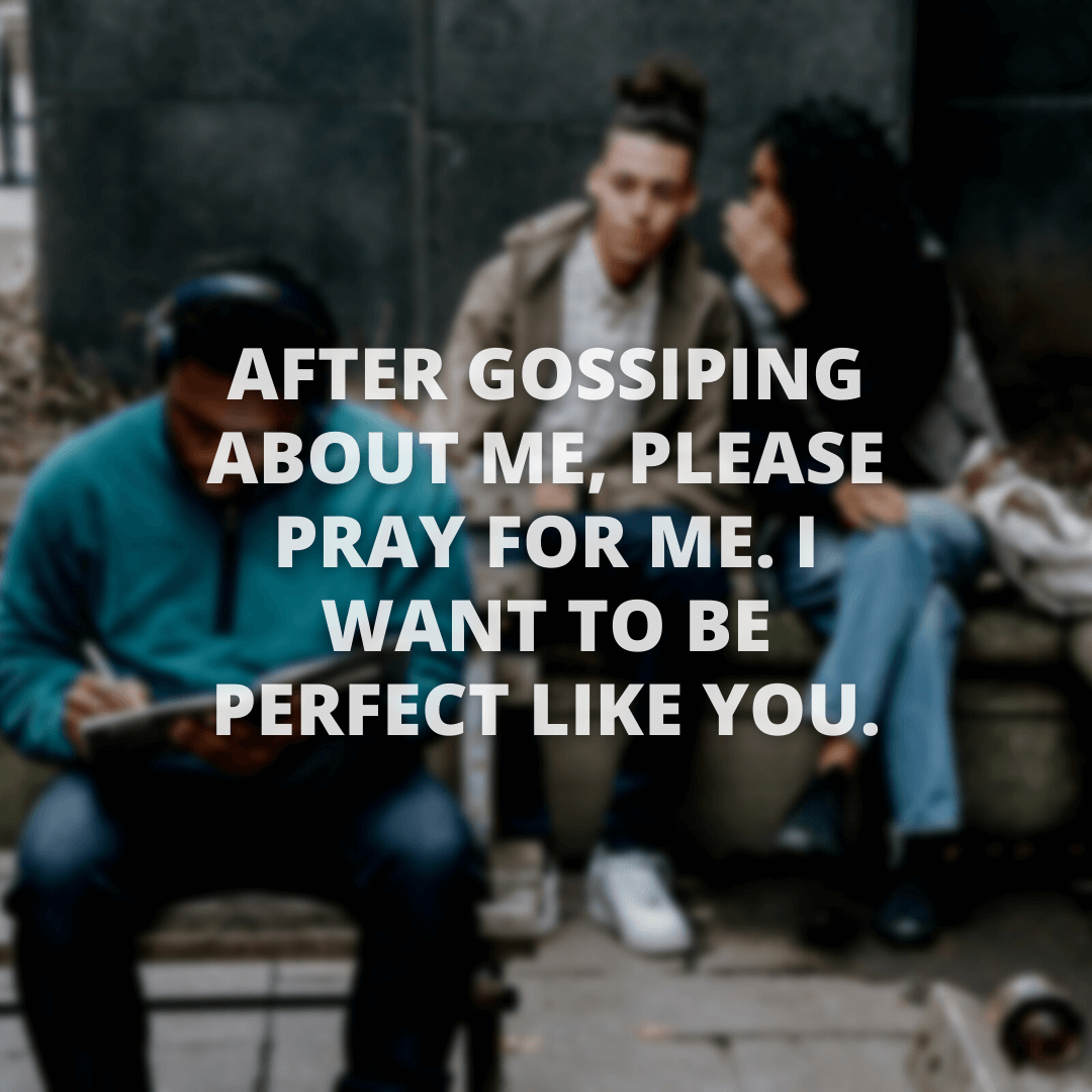 After Gossiping About...