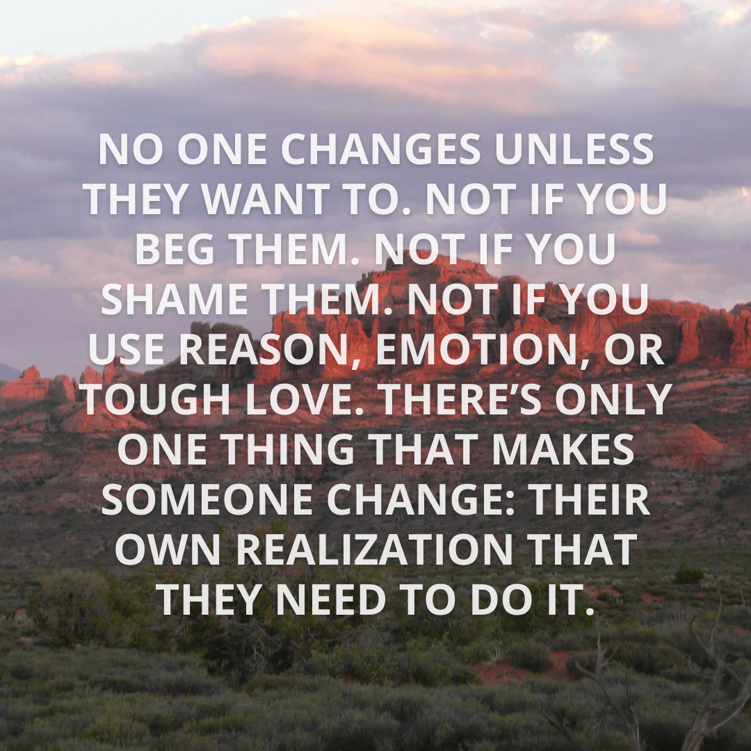 No One Changes...