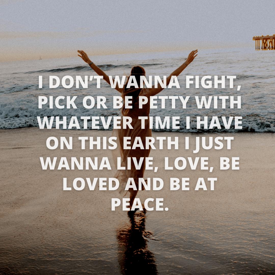 I Don't Wanna...