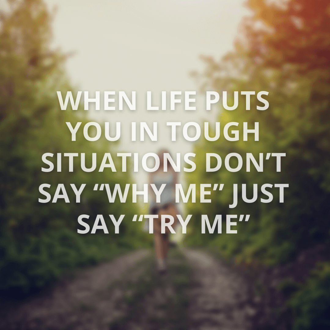 When Life Puts...