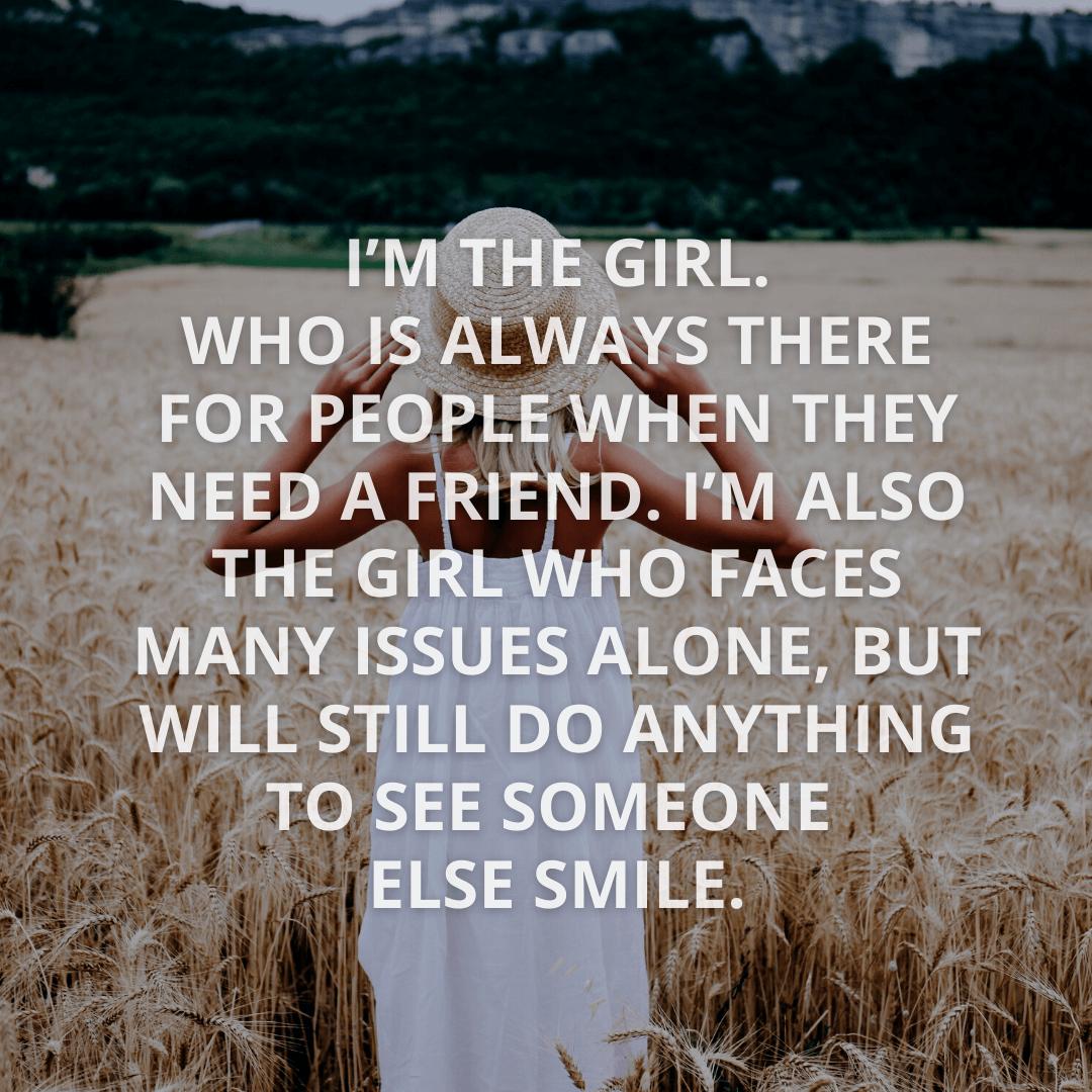 I'm The Girl...